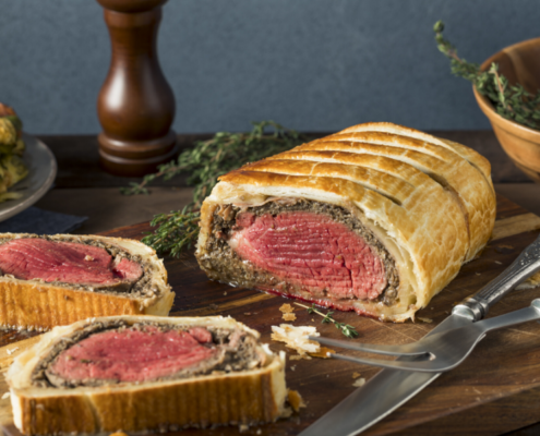 Rindslungenbraten im Blätterteig - Filet Wellington