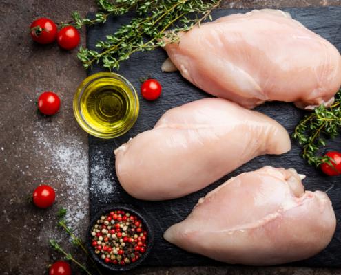 Hühnerragout Hühnerfilet Hühnerbrust